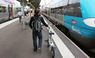 Le syndicat Sud-Rail demande à la région Bretagne et à la SNCF de faire plus de place aux vélos dans les trains régionaux.