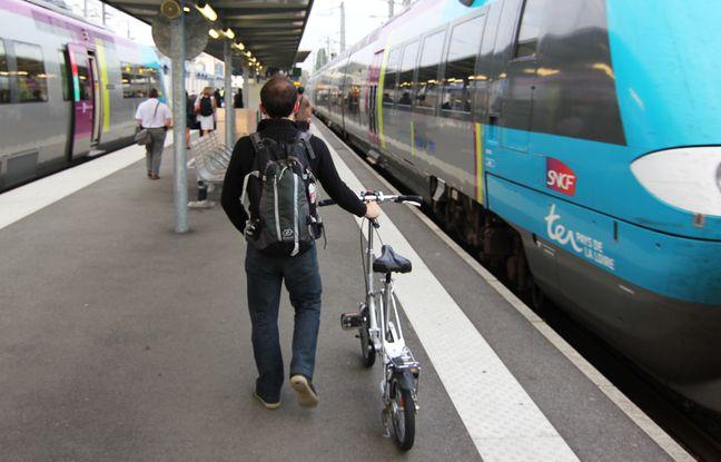 Bretagne: Faut-il faire plus de place aux vélos dans les trains régionaux?