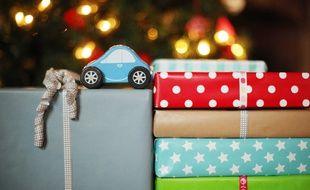 Des cadeaux de Noël.