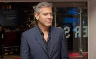 George Clooney à Londres, en octobre 2011.