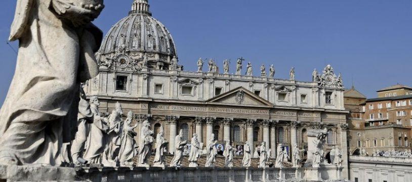 Place Saint-Pierre au Vatican, le 14 octobre 2018.