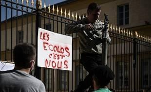 Lors d'une manifestation en mars devant la préfecture des Landes. (archives)