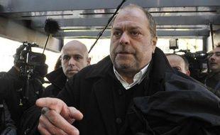 L'avocat de David Roquet, maître Eric Dupond-Moretti, à son arrivée au palais de justice le 2 février 2015 à Lille