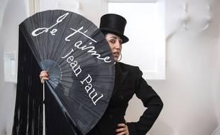 Rossy de Palma, «guest star» du «Fashion Freak Show» de Jean Paul Gaultier aux Folies Bergères, en mars 2019.