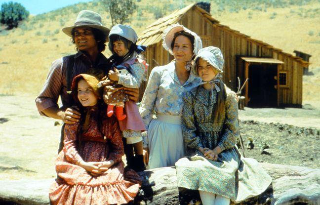La famille Ingalls dans la série «La Petite maison dans la prairie».
