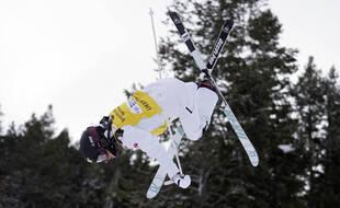 Perrine Laffont n'aura pas réussi le doublé aux championnats du monde de ski de bosses, au Kazakhstan. Illustration.