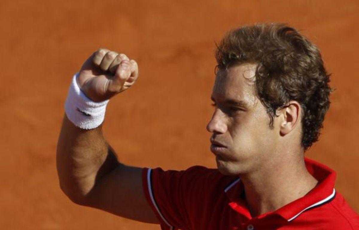 Richard Gasquet, le 25 mai 2011 à Roland-Garros. – V.Kessler / REUTERS