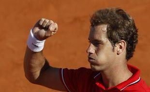 Richard Gasquet, le 25 mai 2011 à Roland-Garros.
