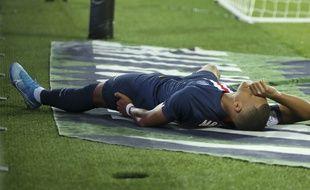 Kylian Mbappé s'est blessé lors de PSG-Toulouse, le 25 août 2019.