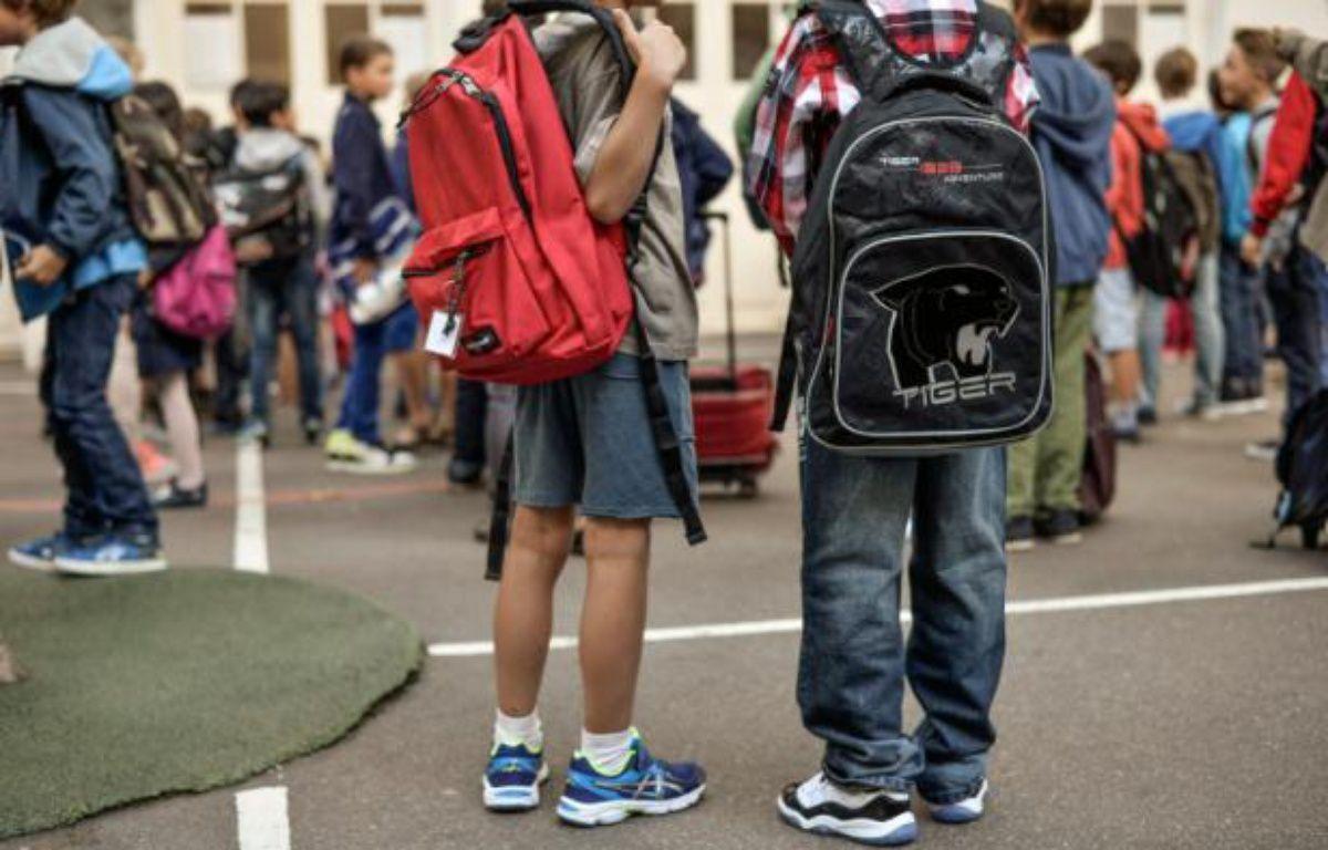 Des écoliers marseillais ont été témoins d'une rixe violente. Illustration.  – Fred Dufour AFP