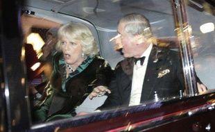 La voiture du prince Charles, attaquées par des étudiants en colère, le 9 décembre 2010
