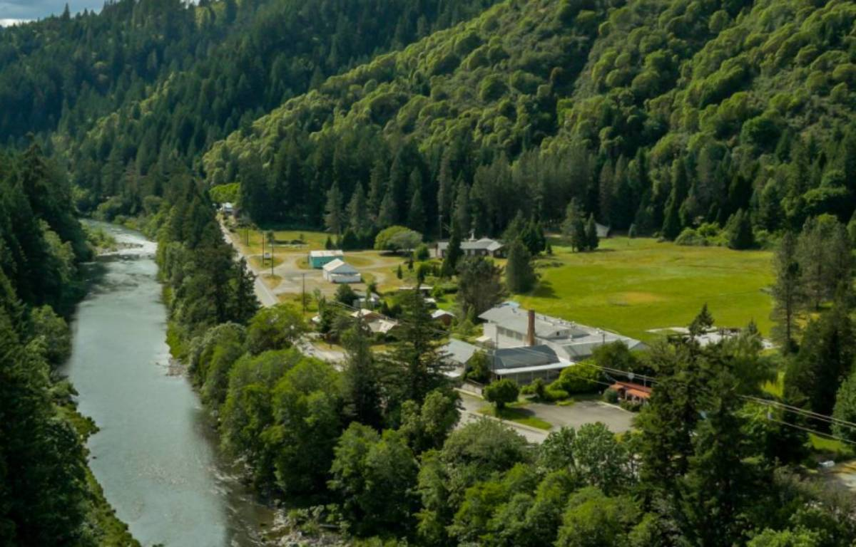 Le village Tiller, en vente dans l'Oregon – Screenshot LandLeader.com