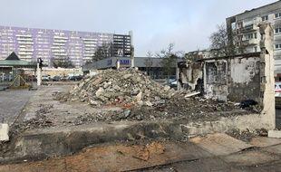 Le centre commercial des Dervallières a été rasé le 4 février 2021.
