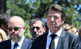 Philippe Pradal, ici avec Christian Estrosi