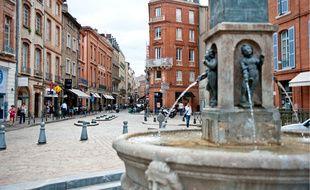 Les vols ont eu lieu dans une boutique de luxe de la rue Croix-Baragnon, à Toulouse.