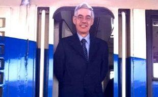 Franciso José Garzon, le conducteur du train Madrid-El Ferrol, qui a fait au moins 80 morts lors de son déraillement le 24 juillet 2013.