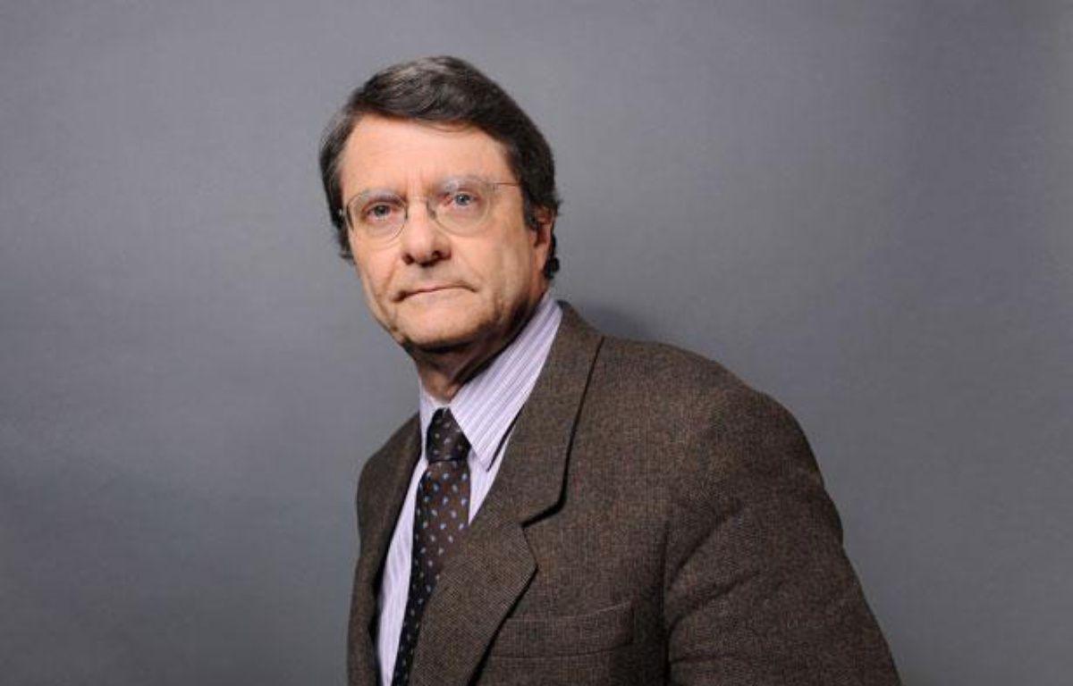 Erik Izraelewicz le 11 février 2011 à Paris. – BALTEL/SIPA