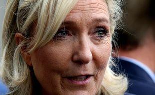 Marine le Pen à Chalons-en-Champagne le 7 septembre 2018. FRANCOIS NASCIMBENI / AFP.