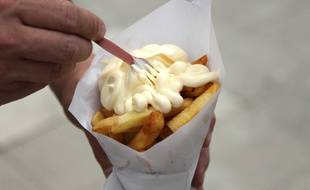 Illustration d'un cornet de frites.