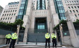 Le siège du MI6, à Londres