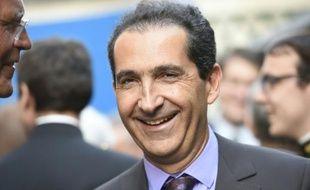 Patrick Drahi à Paris le 24 juin 2015