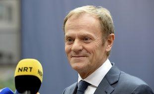 Donald Tusk, le président du Conseil européen