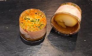 Regardez bien ces œufs en gelée (de la Maison Vérot à Paris), ils pourraient bien devenir la grande tendance de demain.