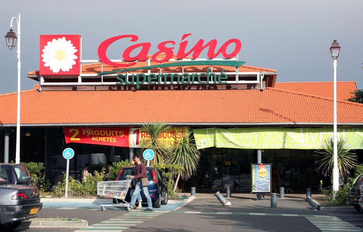 Un supermarché Casino (illustration) –  Jeff Blackler / Rex Fea/REX/SIPA