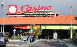 Un supermarché Casino (illustration)