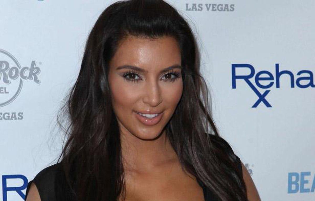 Kim Kardashian à Las Vegas, le 3 juin 2012. – MJT/AdMedia/Sipa