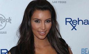 Kim Kardashian à Las Vegas, le 3 juin 2012.