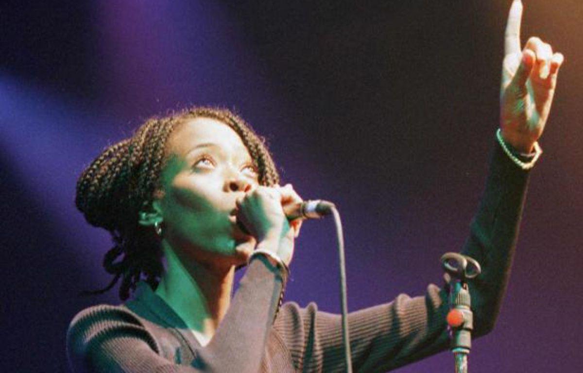 """TériMoïse avait connu un grand succès en 1996 avec son tube """"Les poèmes de Michelle"""" – DANIEL JANIN / AFP"""