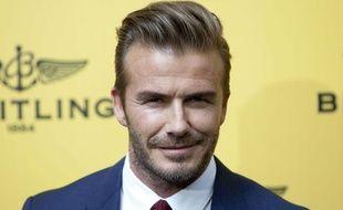 David Beckham à Madrid le 3 juin 2015.