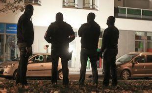 Illustration. Strasbourg le 16 novembre 2015. Le Raid et la BRI sont intervenus  dans un immeuble, à Strasbourg-Neudorf.