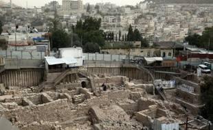 La Cité de David à Jérusalem, une citadelle fortifiée bâtie au IIe siècle avec J.-C.