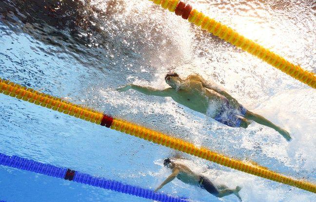 Michael Phelps, beaucoup trop rapide pour ses adversaires du relais le 7 août 2016.