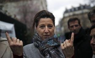 Agnès Buzyn, candidate LREM, à la mairie de Paris