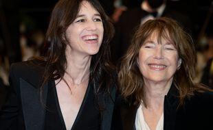 Charlotte Gainsbourg et Jane Birkin à Cannes le 7 juillet 2021