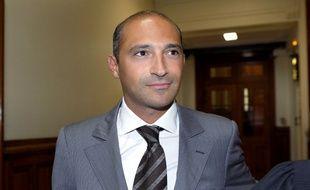 Thomas Fabius, fils de Laurent Fabius, le 1er juin 2011 au au Tribunal de Grande Instance de Paris.