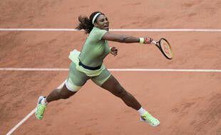 Serena Williams en action