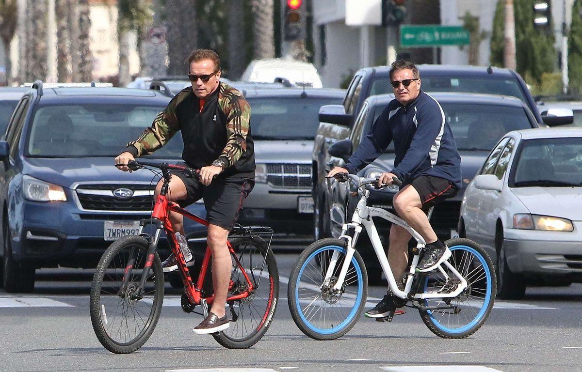 Arnold Schwarzenegger vient à Paris ce vendredi 28 avril 2017 (Illustration). //X17_X17013/Credit:X17/SIPA/1704260821 – SIPA