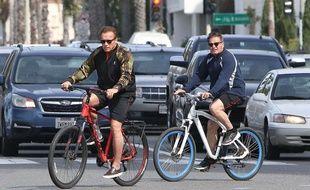 Arnold Schwarzenegger vient à Paris ce vendredi 28 avril 2017 (Illustration). //X17_X17013/Credit:X17/SIPA/1704260821