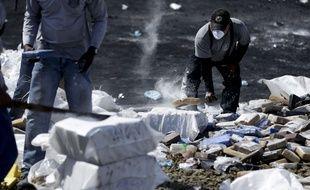 Une saisie de cocaïne au Panama, le 29 mars 2019.