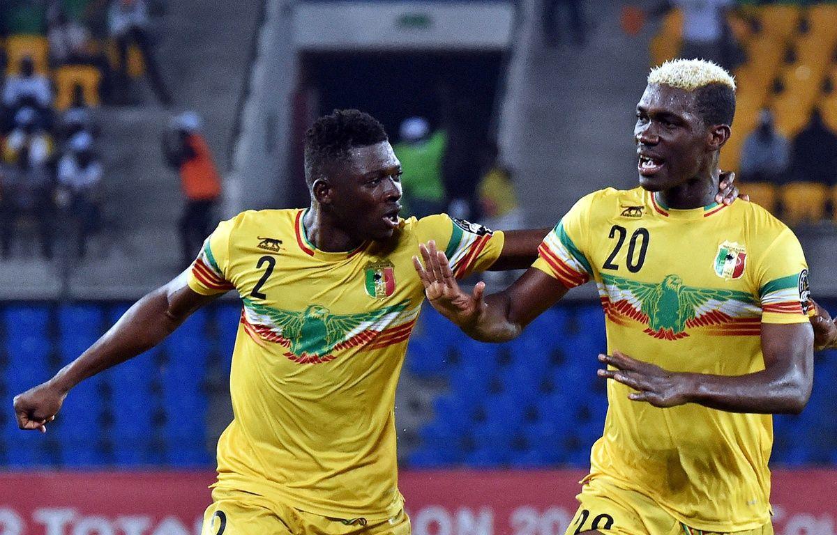 Hamari Traoré (n°2), ici lors de la Coupe d'Afrique des nations 2017 avec le Mali. – I. Sanogo / AFP
