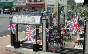 L'Union Jack flotte sur Dinard pendant le festival du film britannique début octobre.