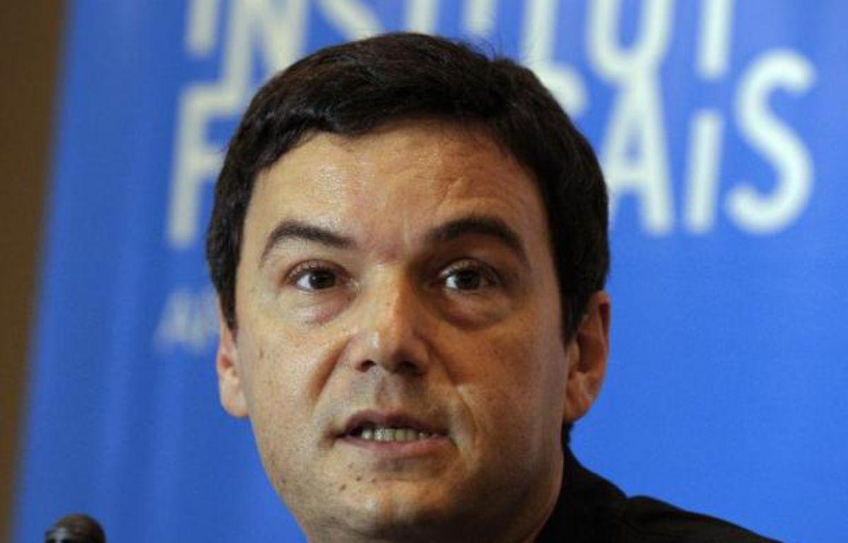 L'économiste français Thomas Piketty donne une conférence, le 16 janvier 2015 à Buenos Aires – Alejandro Pagni AFP