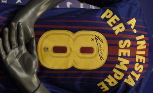 Le dernier maillot d'Iniesta ressemblera (presque) à ça.