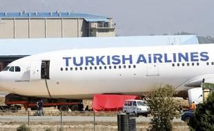 Illustration d'un avion de la Turkish Airlines.