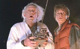 Extrait du film «Retour vers le futur» (1985).