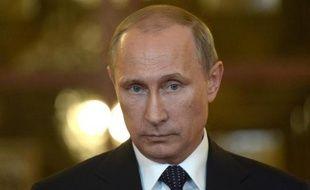 Vladimir Poutine le 17 juillet 2014 à Brazilia